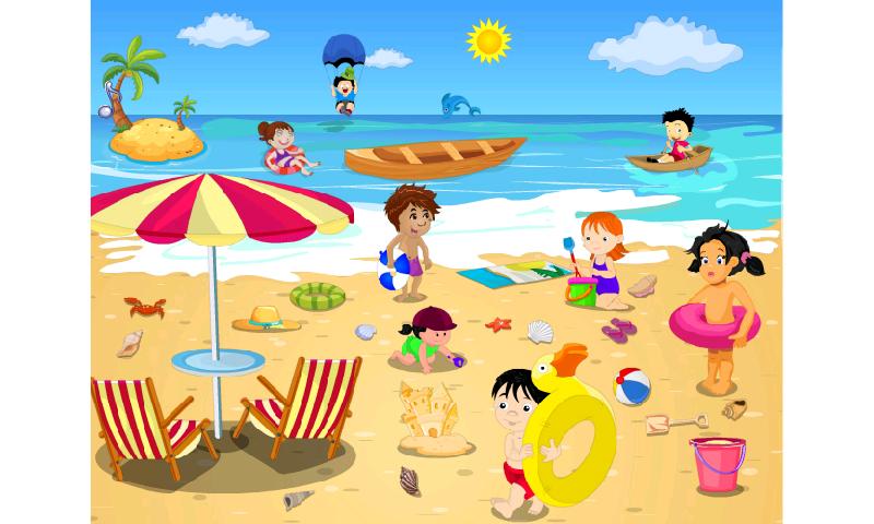 Beach clip art clipart