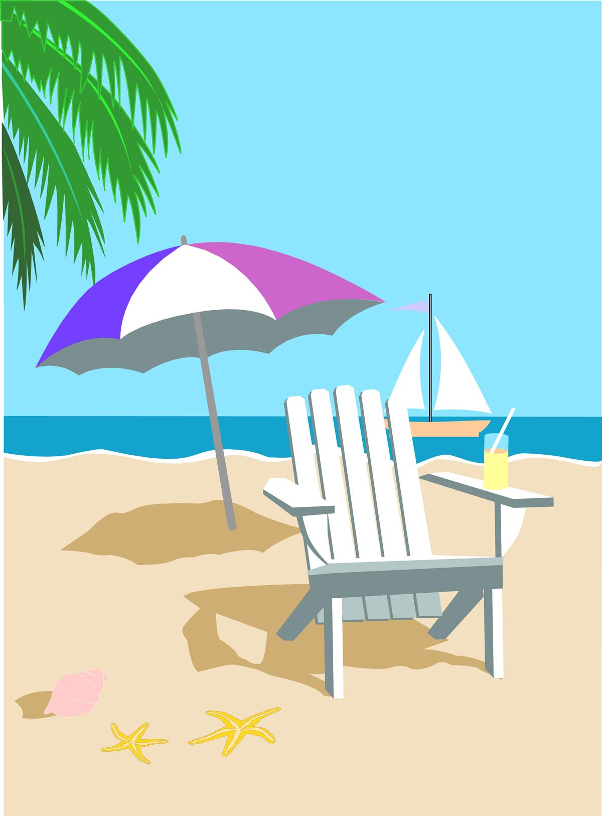 Beach clipart 1
