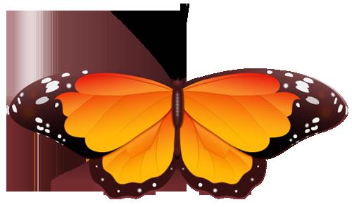 Butterfly wedding clip art
