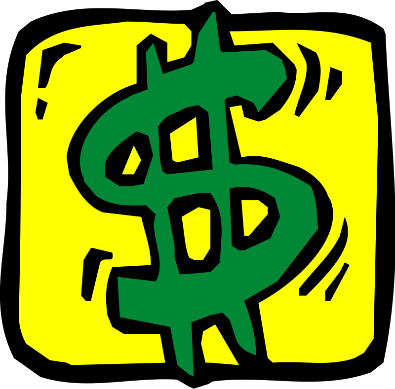 Free clipart of money clipart