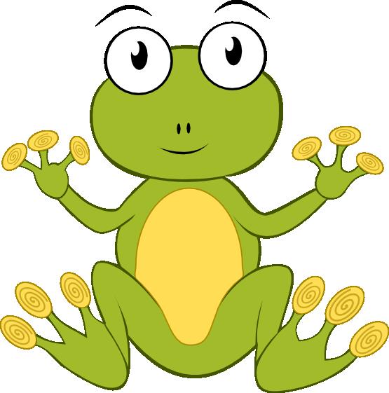 Frog clip art cute clipart