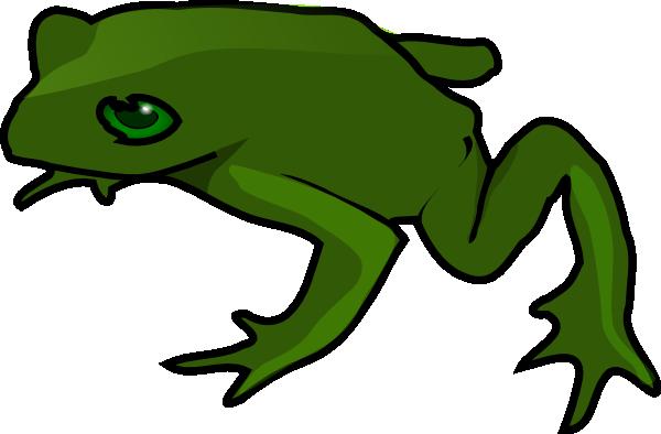 Frog clip art free vector