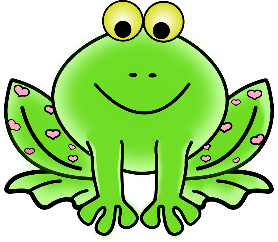 Green frog clipart clipart