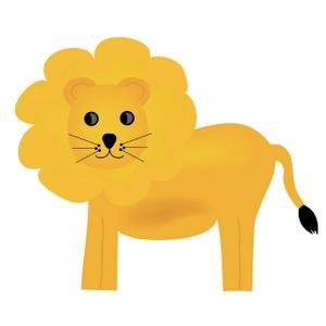 Lion clipart image whimsical lion