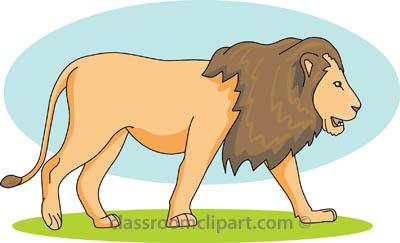 Lion clipart lion side a classroom clipart
