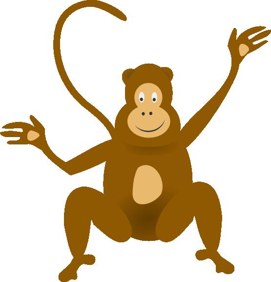 Monkey clip art  2