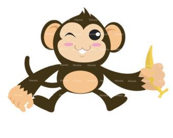 Monkey clipart mod monkey clipart monkey clip art by werata