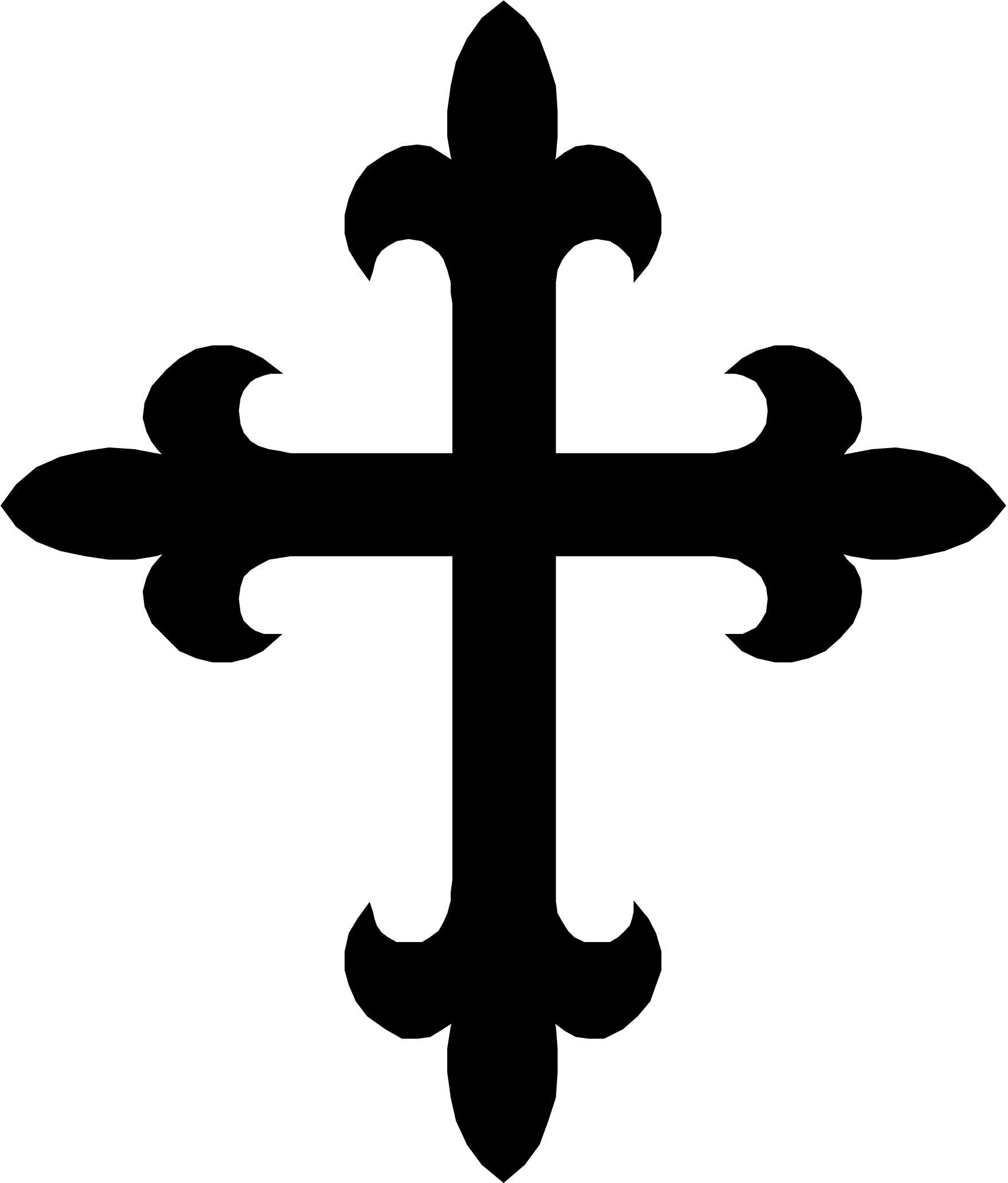 Pics of a cross clipart