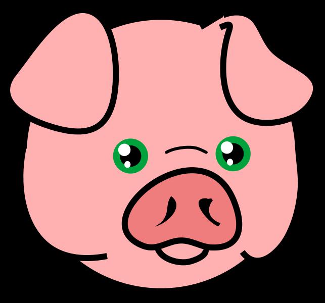 Pig clip art  3