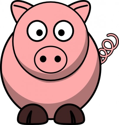 Pig clip art free vector in open office drawing svg svg