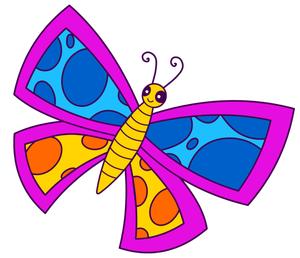 Sweet clip art free butterfly clip art