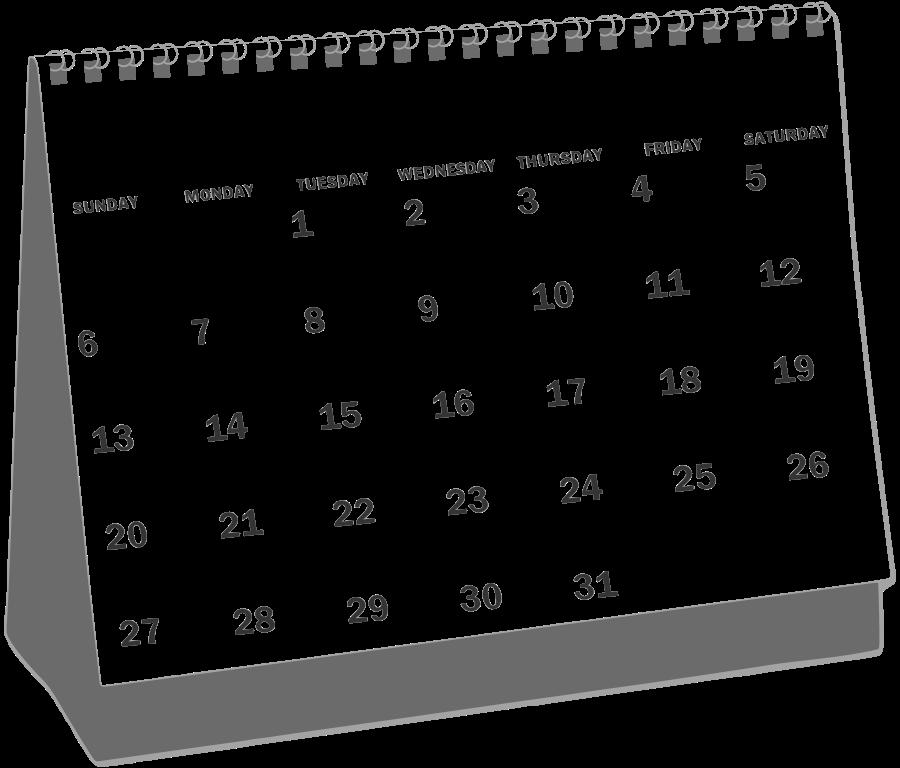 Calendar clipart file tag list clip arts svg file