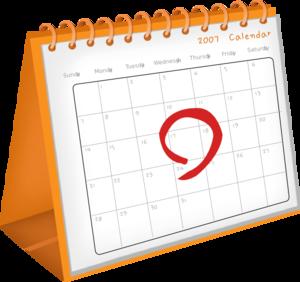 Clipart calendar clipart