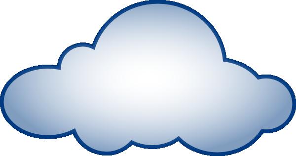 Cloud clip art outline clipart