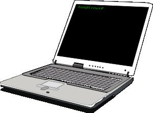 Computer notebook clip art at vector clip art online