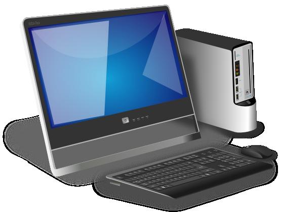 Desktop computer clip art  4