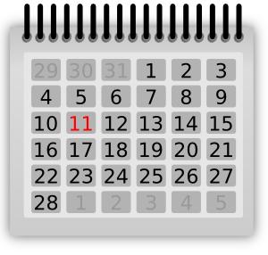 Hawk calendar clip art at vector clip art online