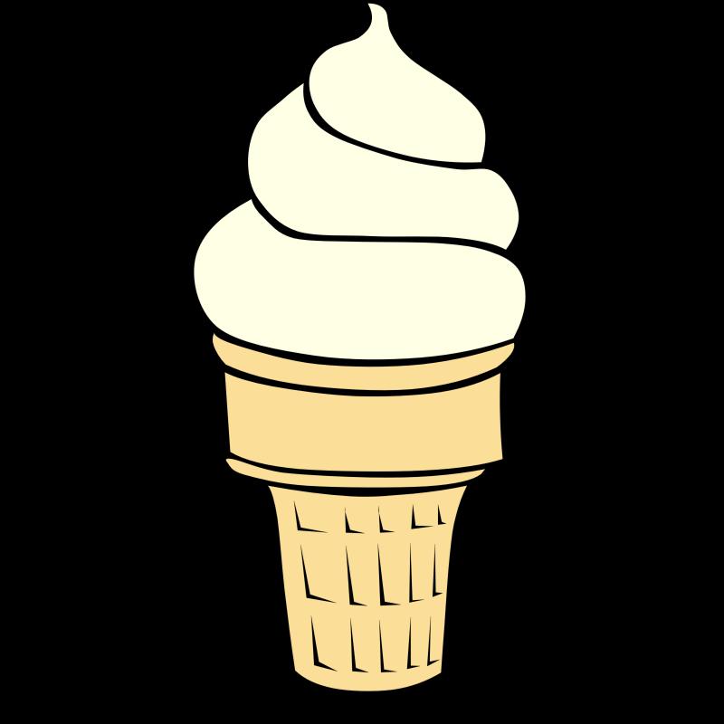 Ice cream cone clip art 2