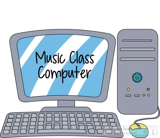 Music music class desktop computer clipart classroom clipart
