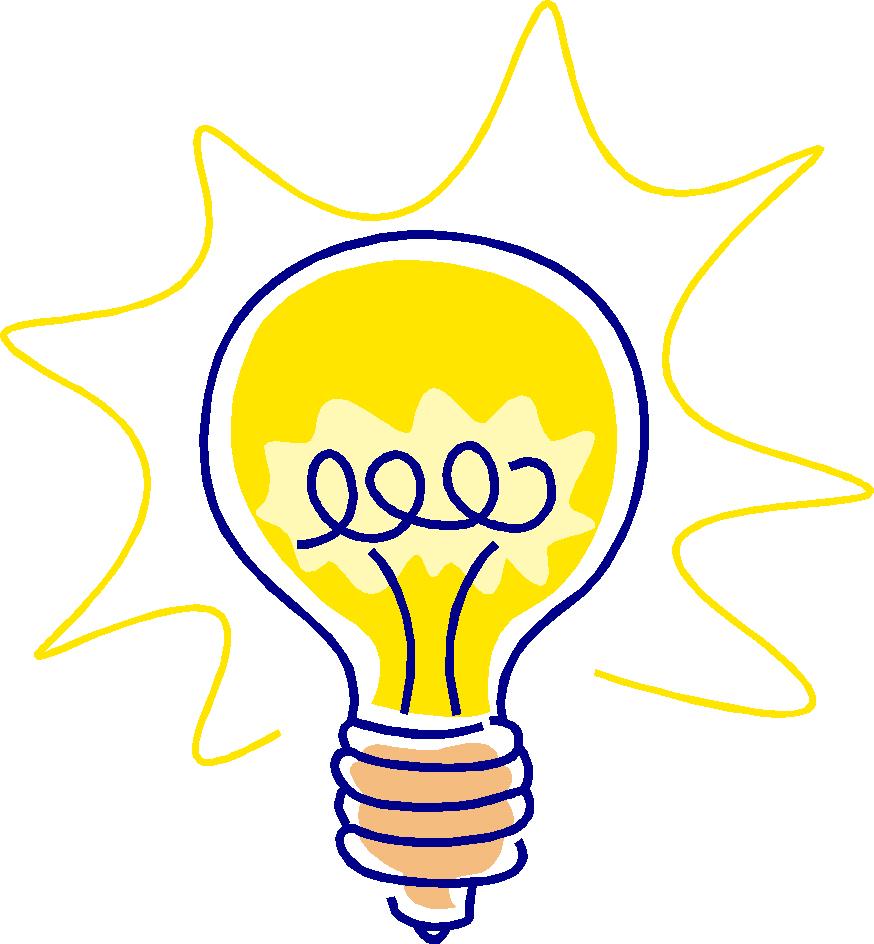 Cartoon Light Bulb Clipart