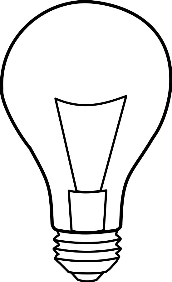 Light bulb clip art 3