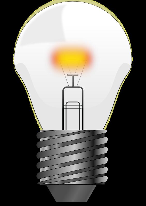 Light bulb clip art  4