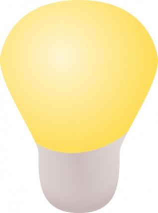 Light bulb clip art free vector in open office drawing svg svg