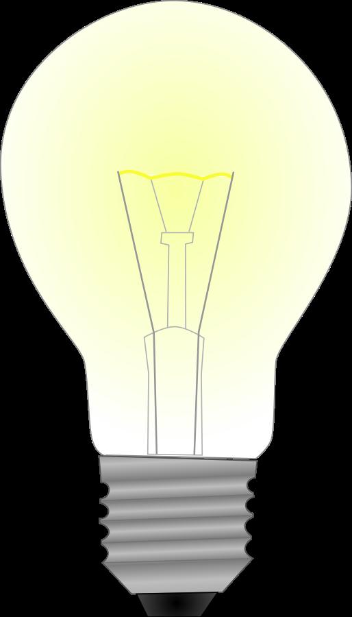 Light bulb clipart vector clip art online royalty free design