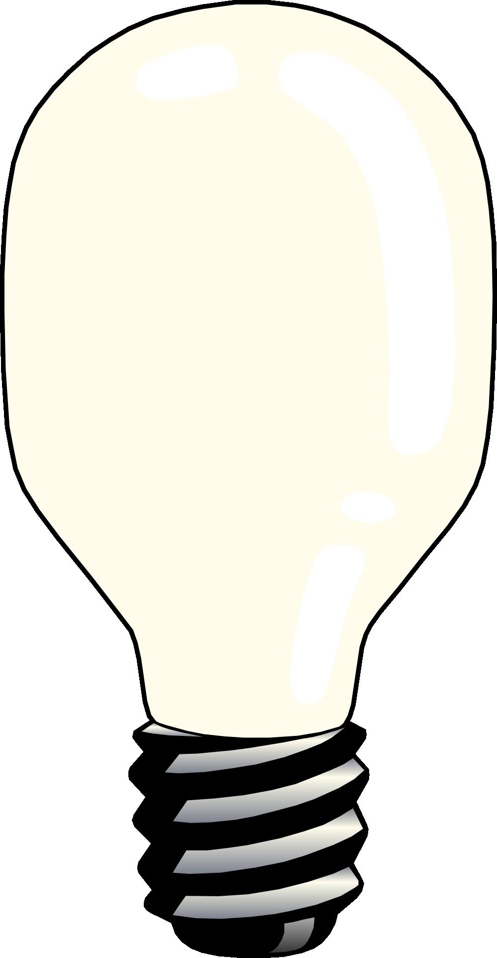 Light bulb home clip art