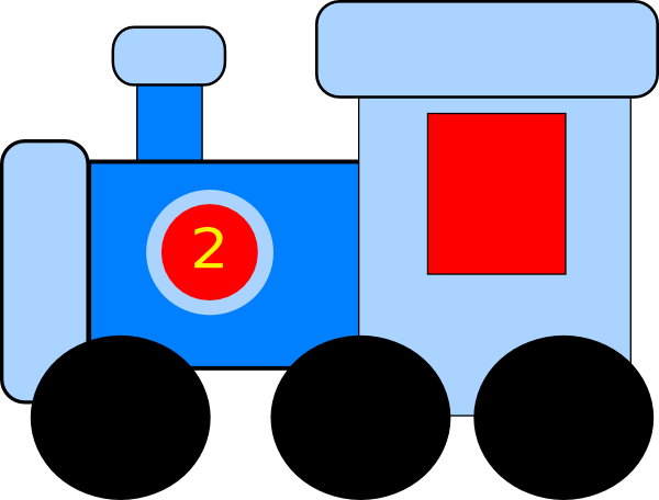 vector clipart train - photo #4