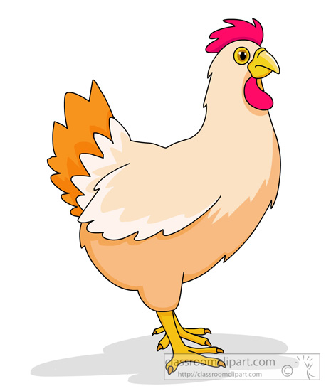 Chicken clipart chicken farm animal clipart classroom clipart