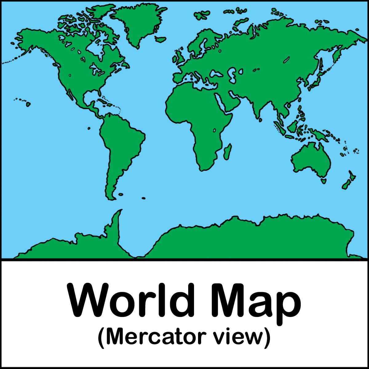Clip art africa map