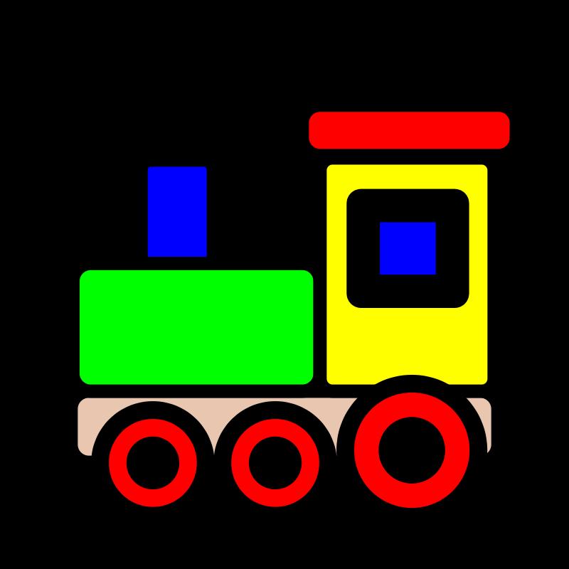 Clip art train