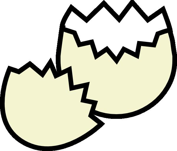 Cracked egg clip art at vector clip art online