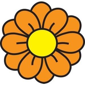 Flower clip art 5 dr odd