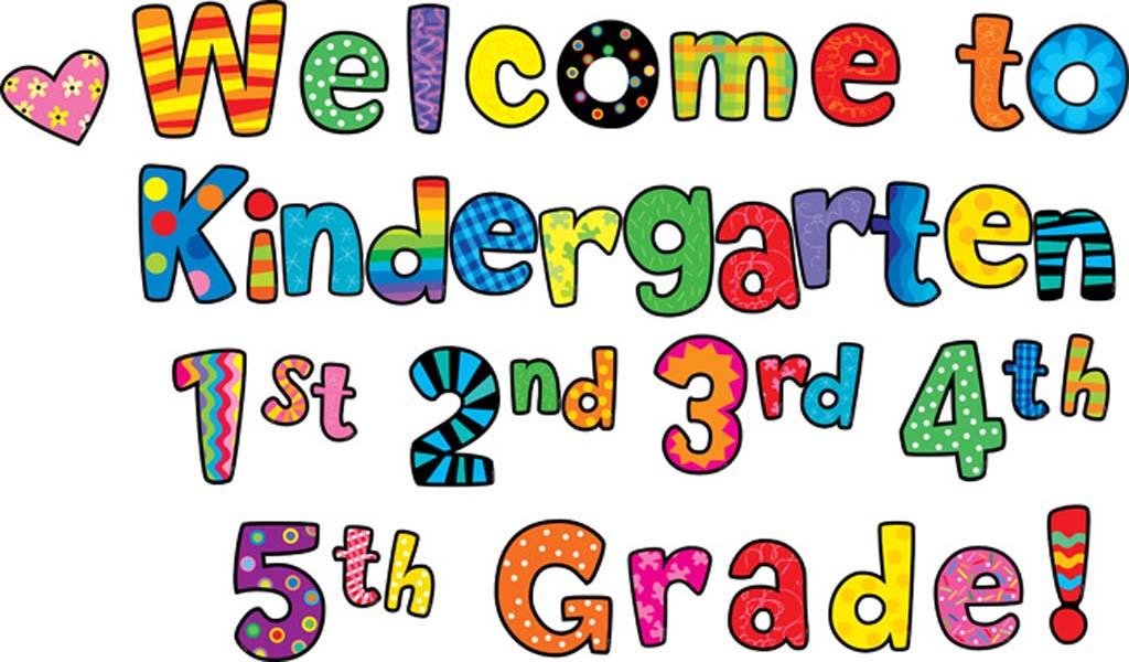 Kindergarten clip art borders clipart
