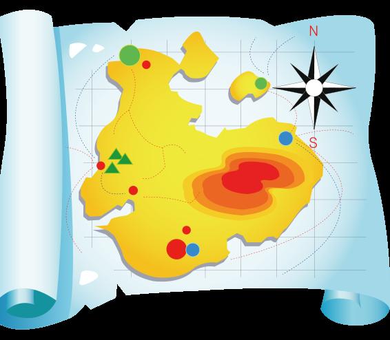 Maps clip art