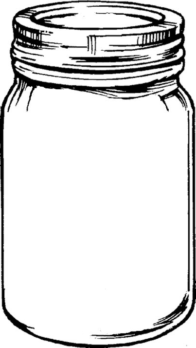 Mason jar clip art clipart