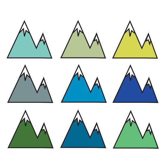 Mountain clip art free clipart