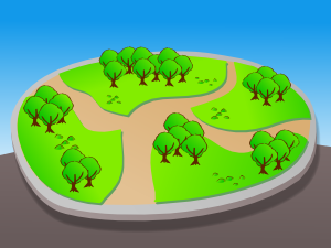 Park map clip art at vector clip art online royalty