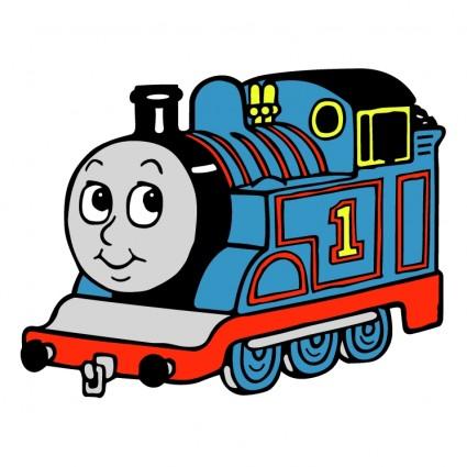 Thomas the train clip art 3