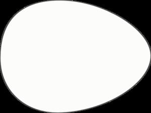 White egg clip art at vector clip art online royalty