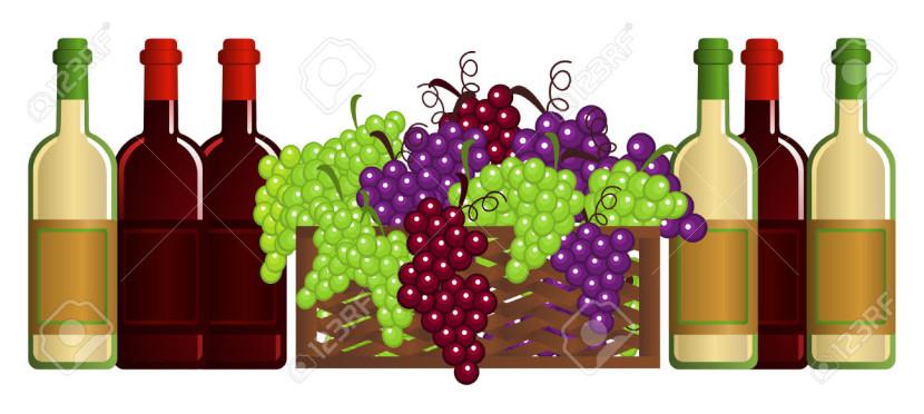 Wine clip art 4