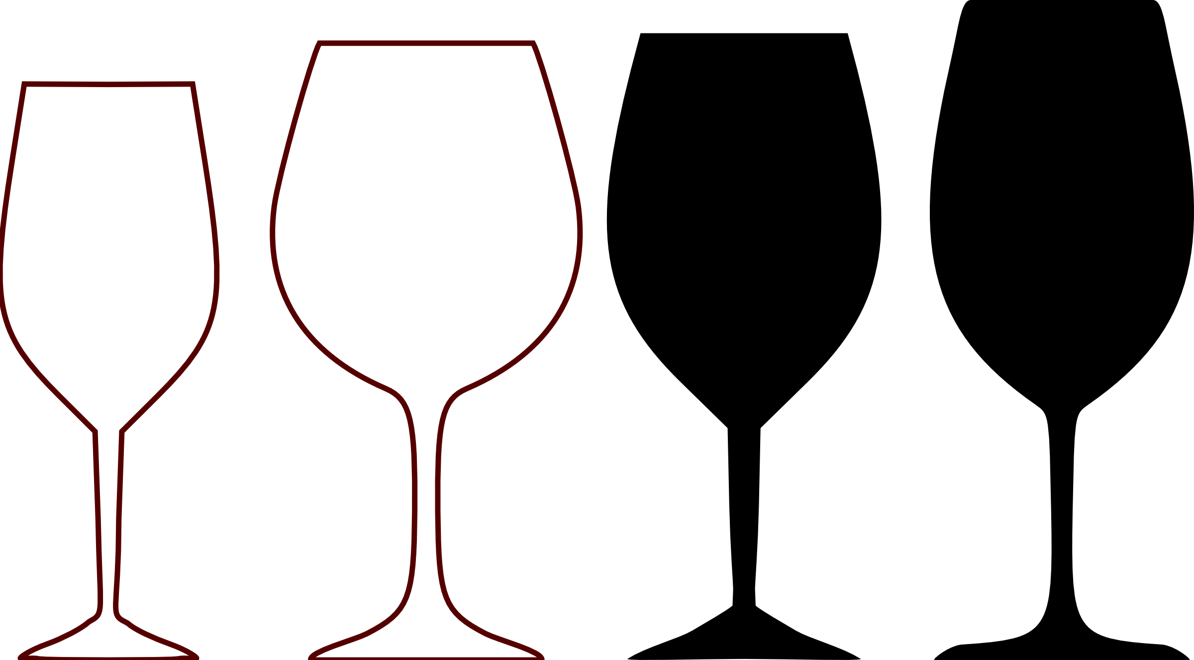 Wine glass bottle clip art clipart