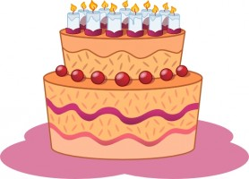 Birthday cake clip art free vector in open office drawing svg 4