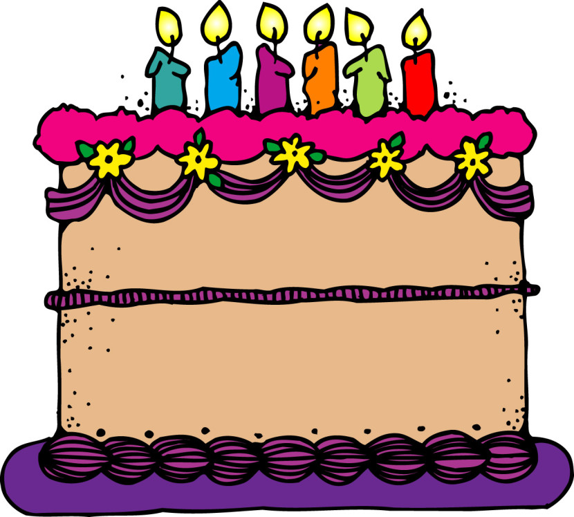 Birthday cake clipart 2