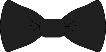 Black bow tie clip art black bow tie image