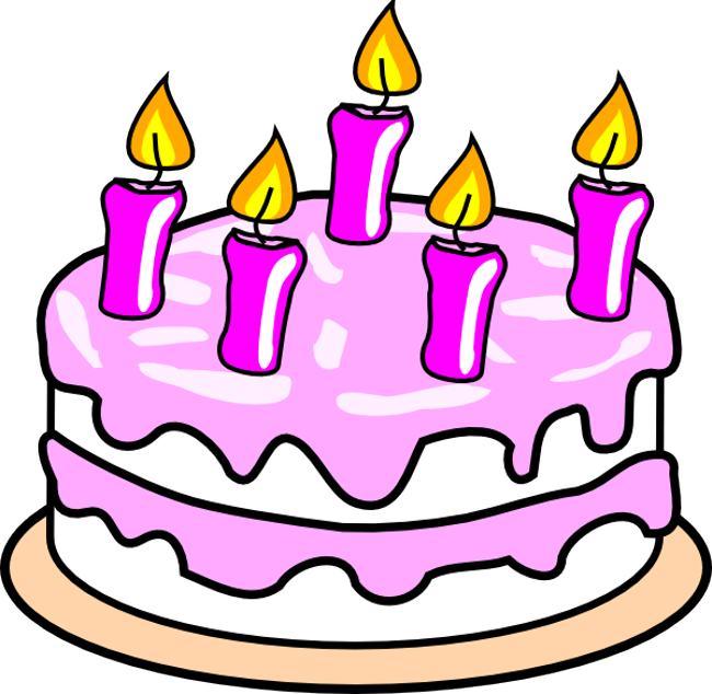Clip art birthday cake clipart