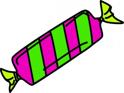 Clip art of real candy clipart