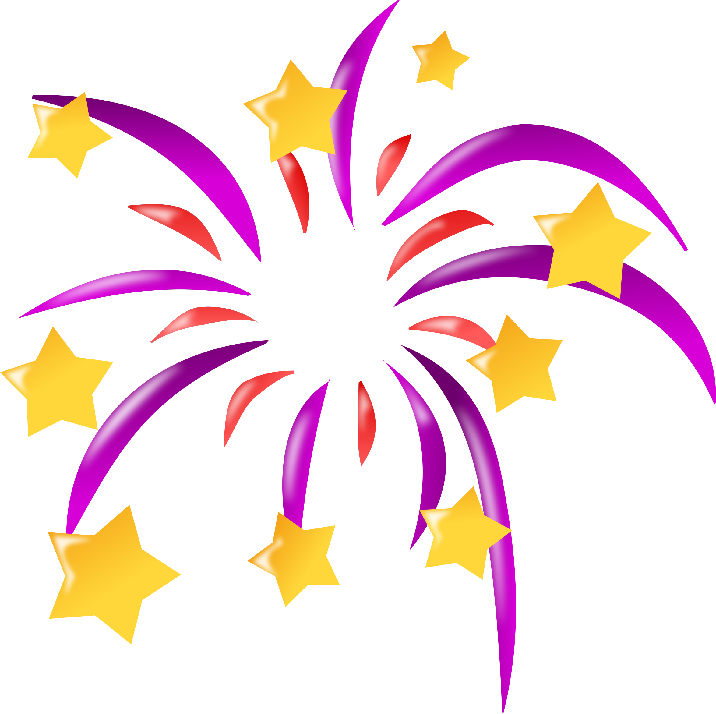 Free fireworks clipart clipart image #4117